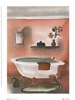"""Hot Tub by Hazel Burrows - 6"""" x 8"""""""