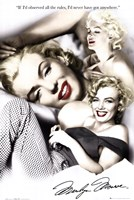Marilyn Monroe - rules Wall Poster