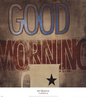 Good Morning Fine Art Print