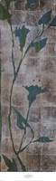 "Transparent Leaves I by Liz Jardine - 12"" x 38"""
