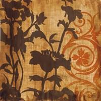 Chocolate Scroll by Liz Jardine - various sizes
