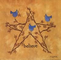 Twiggy Believe Fine Art Print