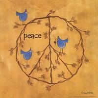 Twiggy Peace Fine Art Print
