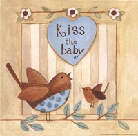 Kiss the Baby Fine Art Print