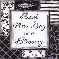 """Each New Day is a Blessing by Annie Lapoint - 12"""" x 12"""""""