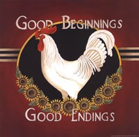 "Good Beginnings by Linda Spivey - 12"" x 12"" - $10.49"