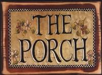 The Porch Fine Art Print