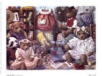 Teddy Bear Wear Framed Print