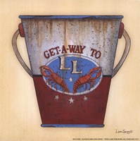 "Get-a-way by Linda Spivey - 6"" x 6"" - $9.49"