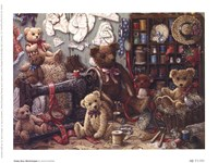 Teddy Bear Workshoppe Fine Art Print