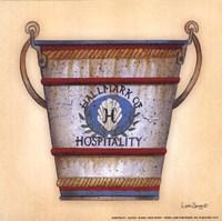 "Hospitality by Linda Spivey - 6"" x 6"""