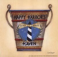 """Happy Harbor by Linda Spivey - 6"""" x 6"""""""
