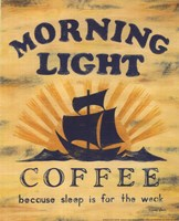 Morning Light Coffee Fine Art Print