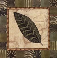 "Tropical Leaf III - petite by Charlene Audrey - 8"" x 8"""