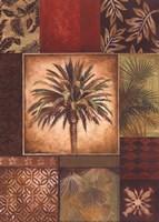 Palm Collage I - petite Framed Print