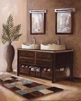 """Bath Still Life II - mini by Gregory Gorham - 8"""" x 10"""""""