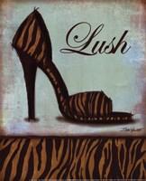 Tiger Shoe - mini Framed Print