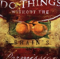 """Do Things by Ashlind Editions - 24"""" x 24"""""""