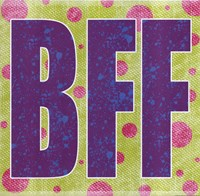 BFF Framed Print