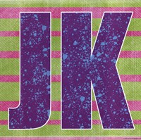 JK Framed Print