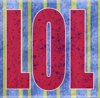 "LOL by Louise Carey - 12"" x 12"""