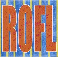 "ROFL by Louise Carey - 12"" x 12"""
