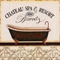 """Spa & Resort I by Lisa Audit - 12"""" x 12"""""""