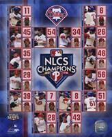 "2009 Philadelphia Phillies National League Champions Composite, 2009 - 8"" x 10"", FulcrumGallery.com brand"