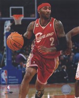 Mo Williams 2009-10 Action Fine Art Print