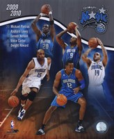 2009-10 Orlando Magic Team Composite Framed Print