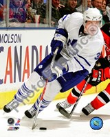 Dion Phaneuf 2009-10 Action On Ice Fine Art Print