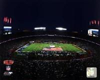 "Sun Life Stadium Super Bowl XLIV National Anthem (#13) - 10"" x 8"""