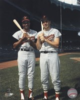 Frank Robinson and Brooks Robinson COLOR Fine Art Print