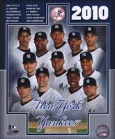 "2010 New York Yankees Team Composite, 2010 - 8"" x 10"""