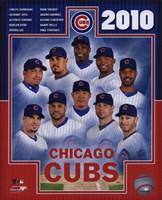 "2010 Chicago Cubs Team Composite, 2010 - 8"" x 10"""