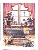 Vintage Bathtub l Fine Art Print