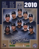 2010 Milwaukee Brewers Team Composite Fine Art Print