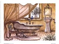 Vintage Bathtub lV Fine Art Print