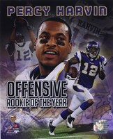 Percy Harvin Offensive Rookie Of The Year Composite Fine Art Print