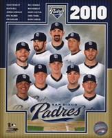 2010 San Diego Padres Team Composite Fine Art Print