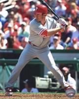 """Chase Utley 2010 batting - 8"""" x 10"""", FulcrumGallery.com brand"""