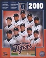 """2010 Detroit Tigers Team Composite, 2010 - 8"""" x 10"""""""