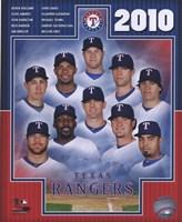 "8"" x 10"" Texas Rangers"