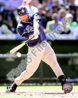 Chase Headley 2010 Action Fine Art Print
