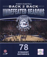 2010 University of Connecticut Huskies Women's Basketball Back to Back Undefeated Seasons Fine Art Print