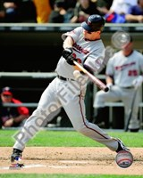 Justin Morneau 2010 Action Fine Art Print