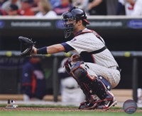 Joe Mauer 2010 Action Fine Art Print