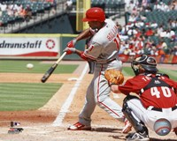 Jimmy Rollins 2010 Action Fine Art Print