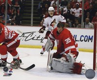 Jimmy Howard 2009-10 Action Fine Art Print
