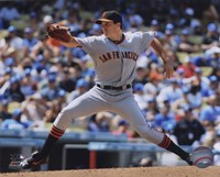 """Barry Zito 2010 Action - 10"""" x 8"""""""